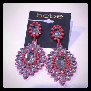 Bebe Full Sparkle Earrings